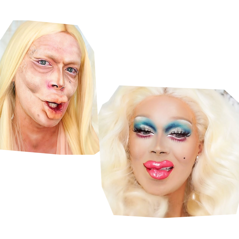 Rupaul drawing makeup. The only tutorial kyle