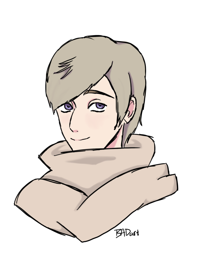 Russia drawing hetalia. Own style by annabogouslavski