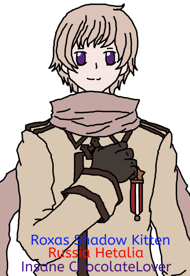 Russia drawing person. Gaiaonline request from hetalia