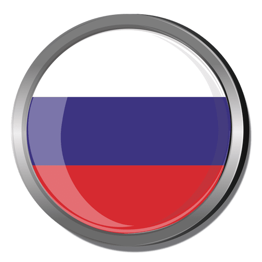 Russia vector svg. Round flag transparent png