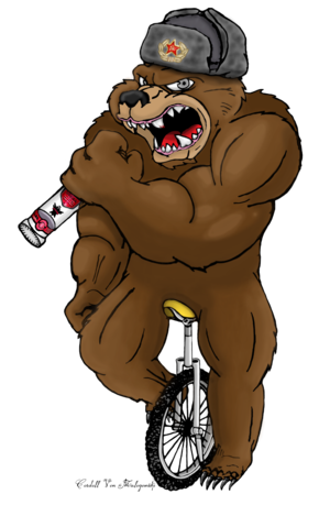 Russian bear png. That picture is entirely