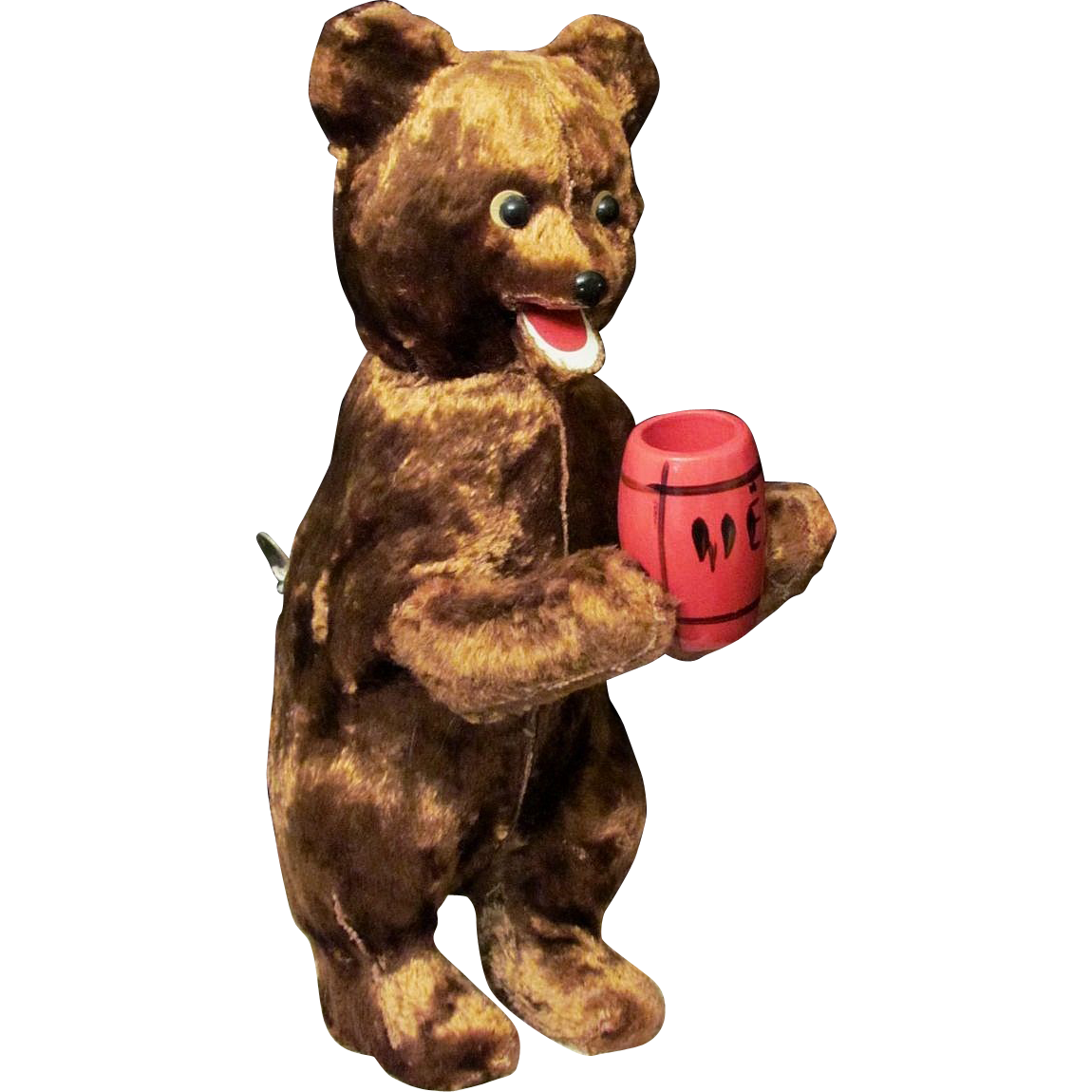 Russian bear png. Vintage wind up key