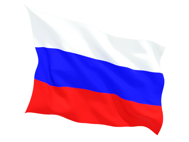 transparent russian flag