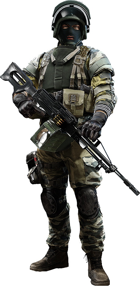 Russian soldier png. Image support bf battlefield