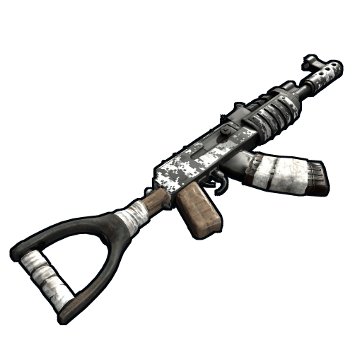 Rust ak png. Image digital camo icon