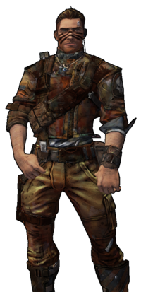 Rust character png.