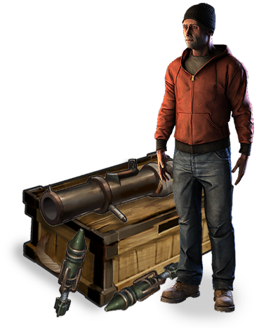 Rust Player Transparent & PNG Clipart Free Download - YA-webdesign