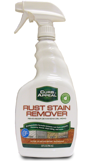 Rust stain png. Remover concrete vinyl siding