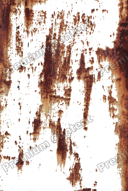 Rust stain png. Environment textures show photos
