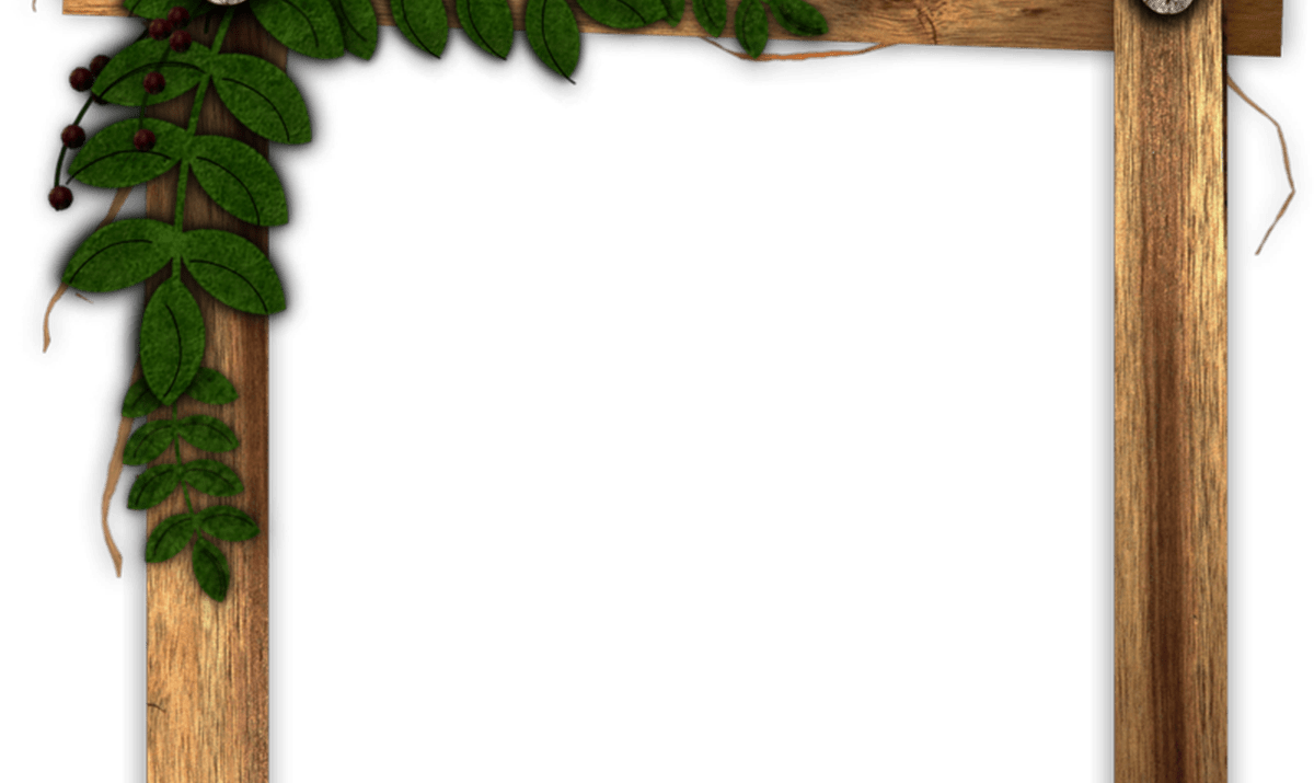Rustic border png. Wooden frame thing my