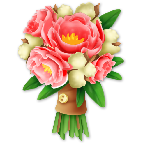 Rustic bouquet png. Soft hay day wiki