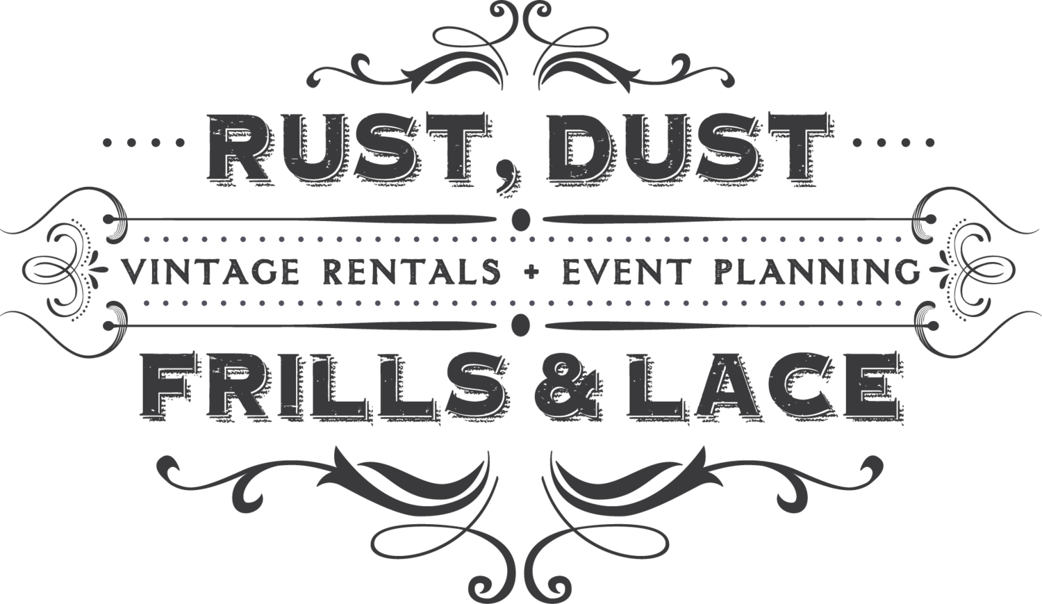 Rustic clipart lace. Rust dust frills and