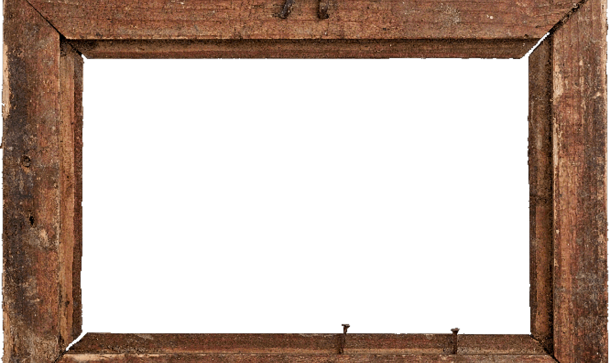 Rustic wood frame png. Picture frames family rules