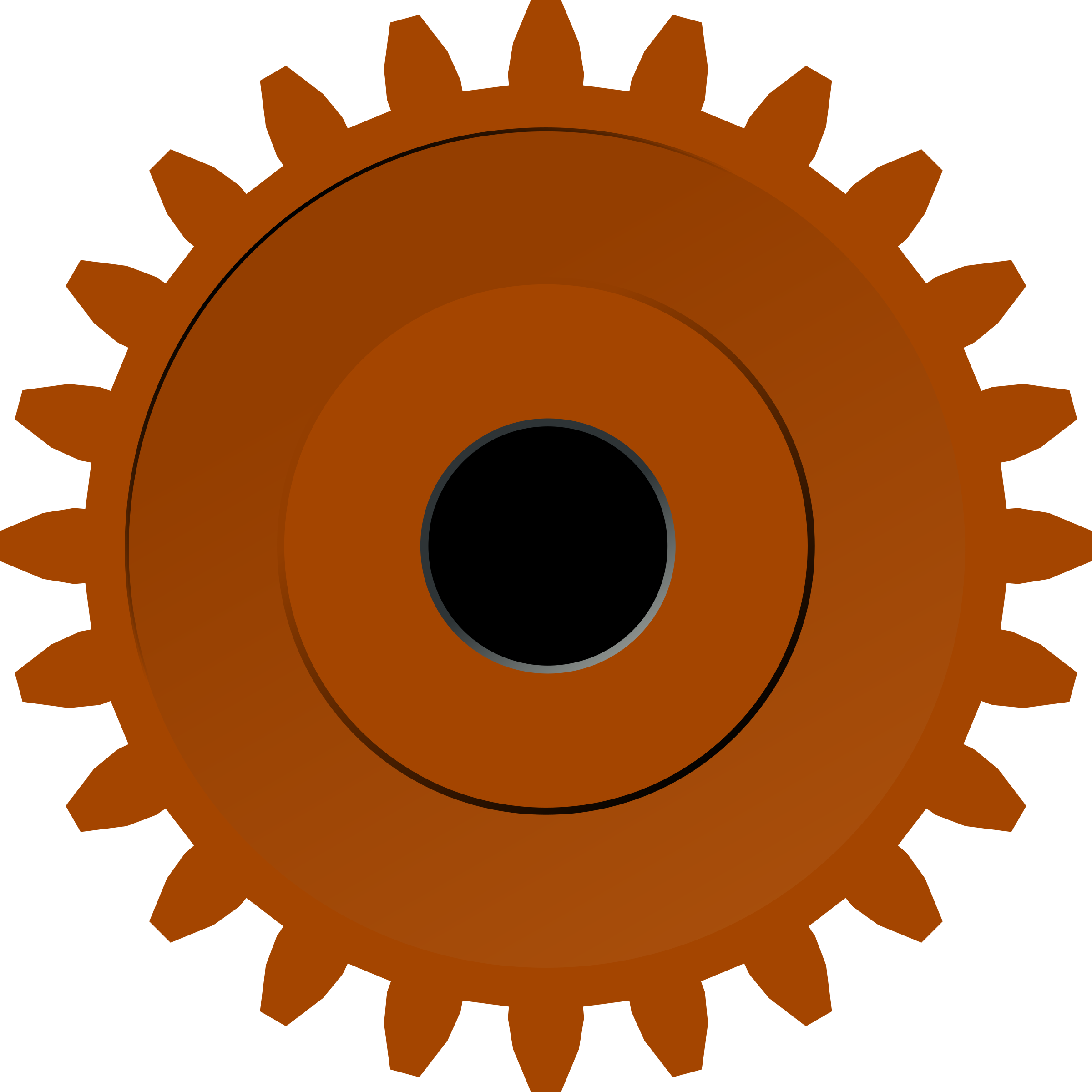 Rusty gears png. Steam gear icons free