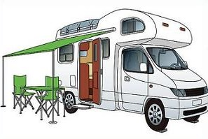 Rv clipart. Free motor home class