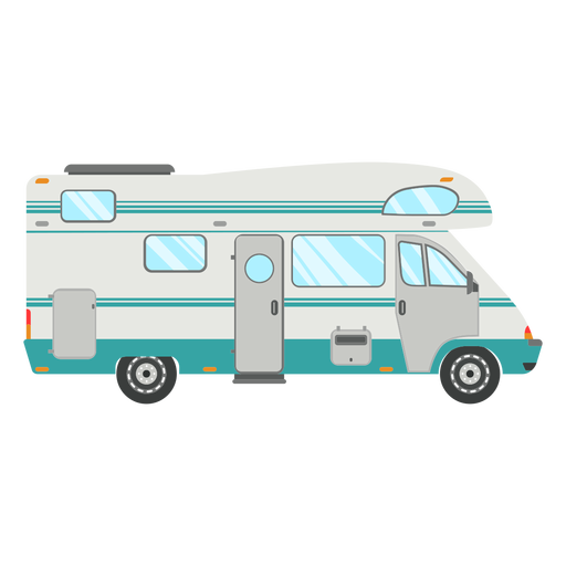 Rv clipart cartoon. Camper svg for free
