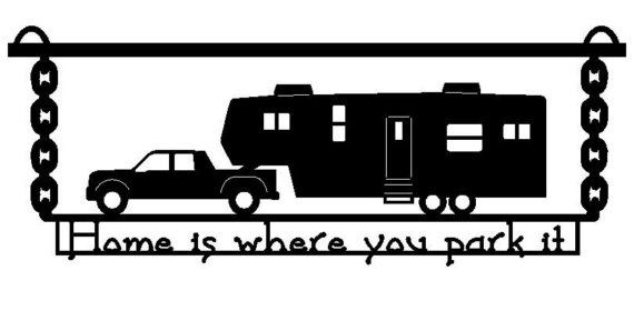 Rv clipart fifth wheel. Th camper image