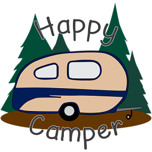 Rv clipart happy camper. By kt designs inktale