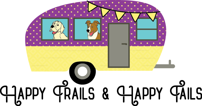 Rv clipart happy camper. Trails and tails