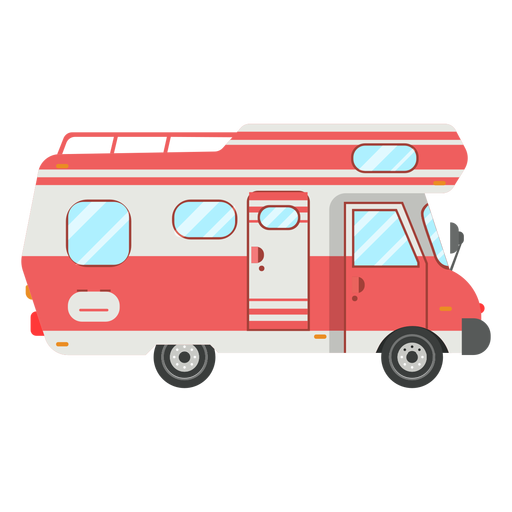 Rv clipart svg. Camper for free download