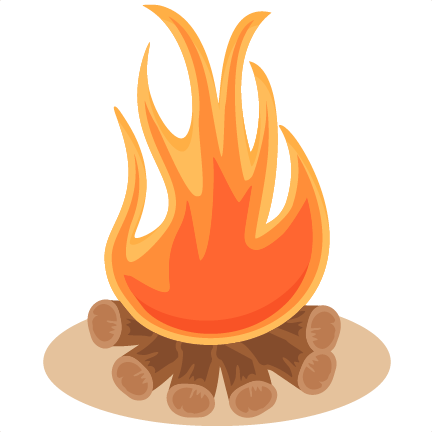 Rv svg campfire. Scrapbook cut file cute