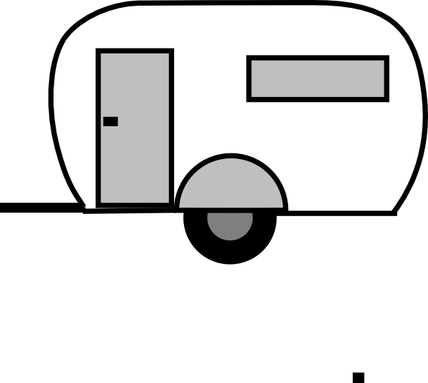 Rv svg silhouette. Camper at getdrawings com