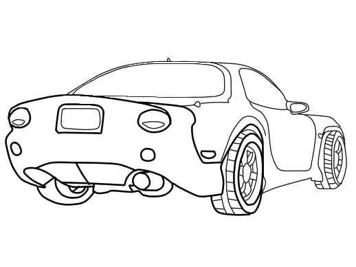 Rx7 Drawing Transparent Clipart Free Download