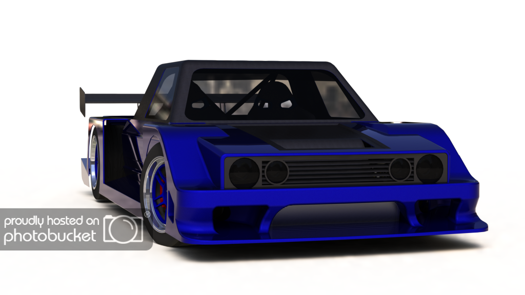 Rx7 drawing cowl hood. Not really a caddy