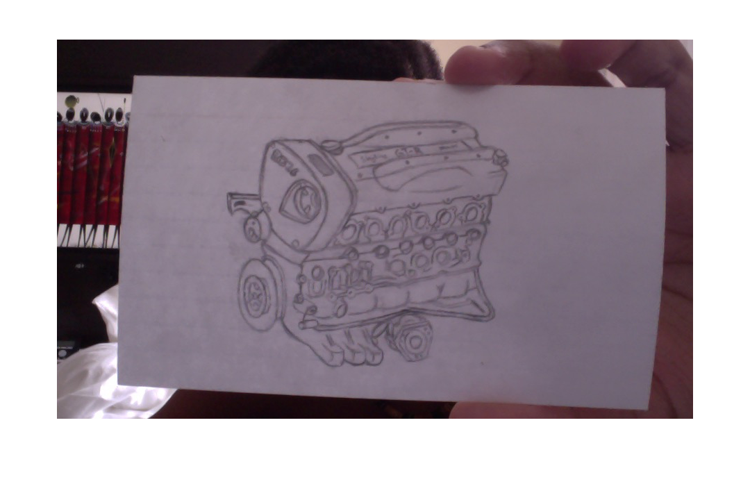 Rx7 drawing rb26. Rb block thoughts