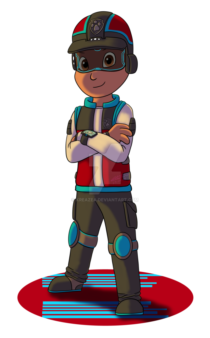 Ryder paw patrol png. Mission by kreazea on