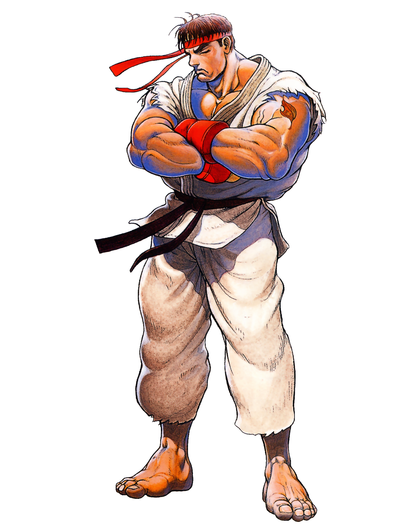 Ryu street fighter 2 png. Fatal fiction fanon wiki