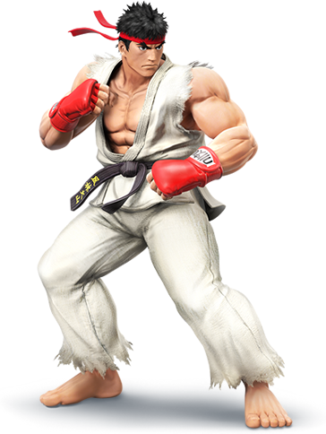 Ryu street fighter 2 png. Image super smash bros