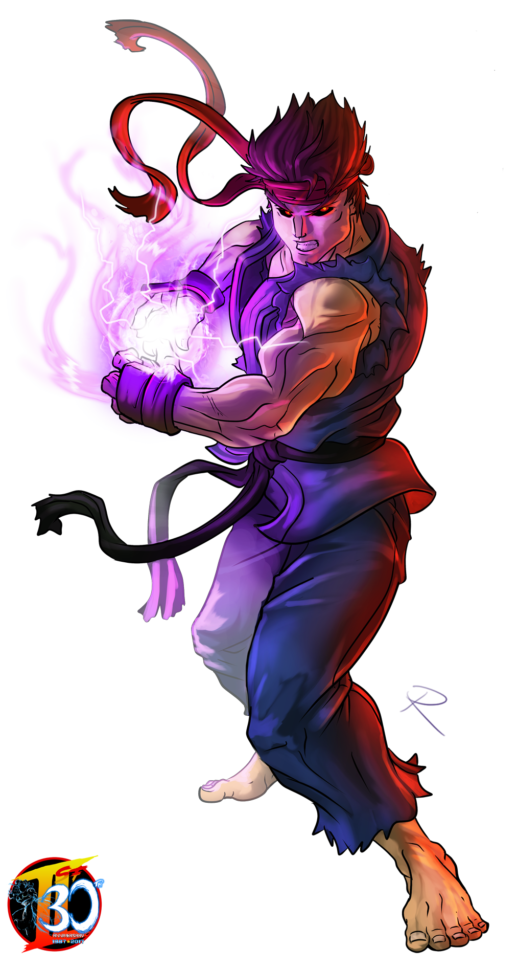 Ryu street fighter 2 png. Our th tribute evil