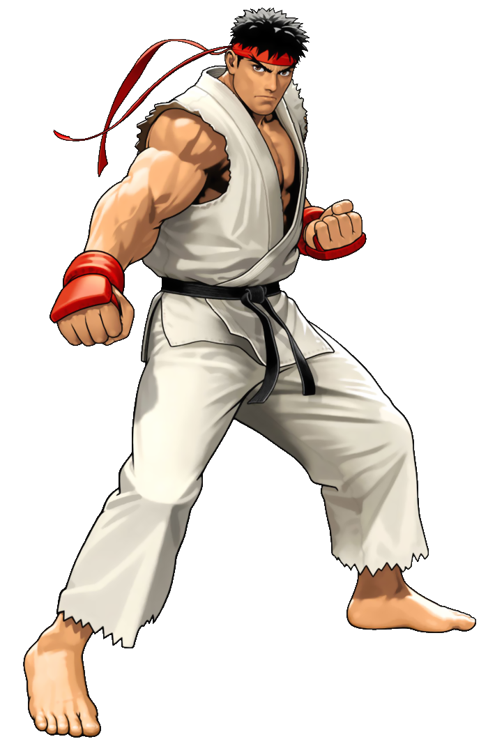 Street fighter ryu png. Image as he appears