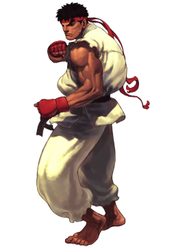 Image street fighter. Ryu transparent png clip stock