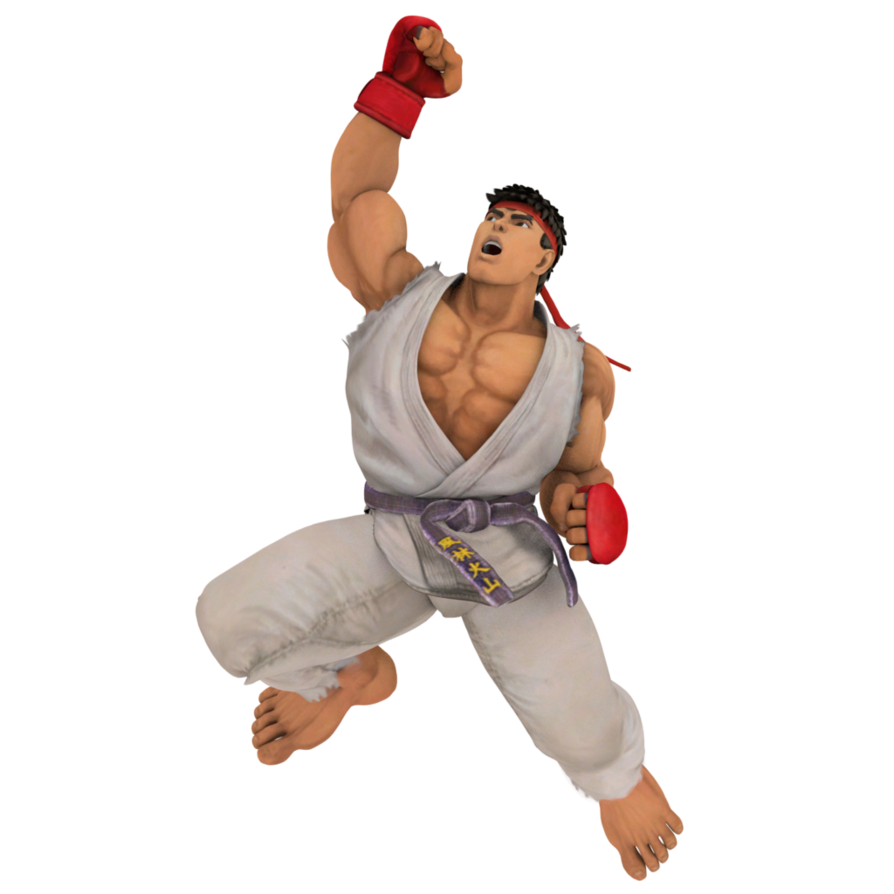 Street fighter transparent png. Ryu by dirtscan on