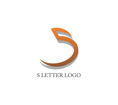 S logo design png. Letter download vector logos
