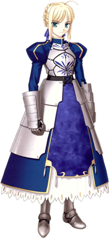 Saber transparent different. Fate stay night why