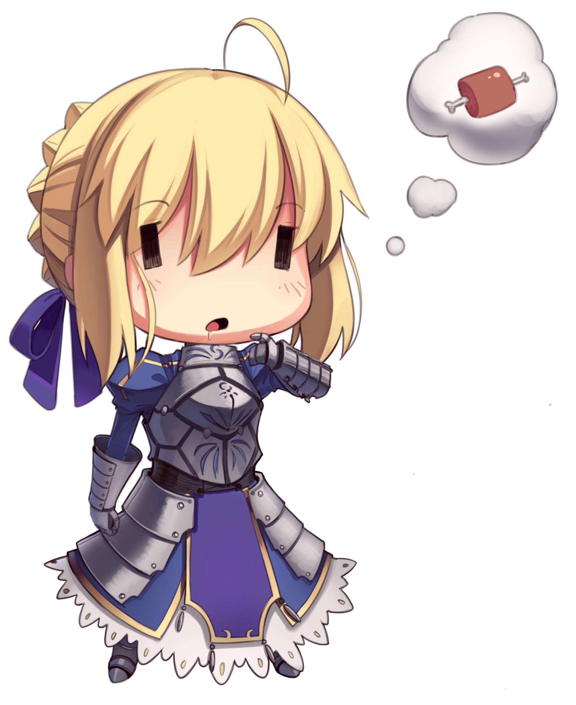 Saber transparent fate zero. Artoria pendragon and stay