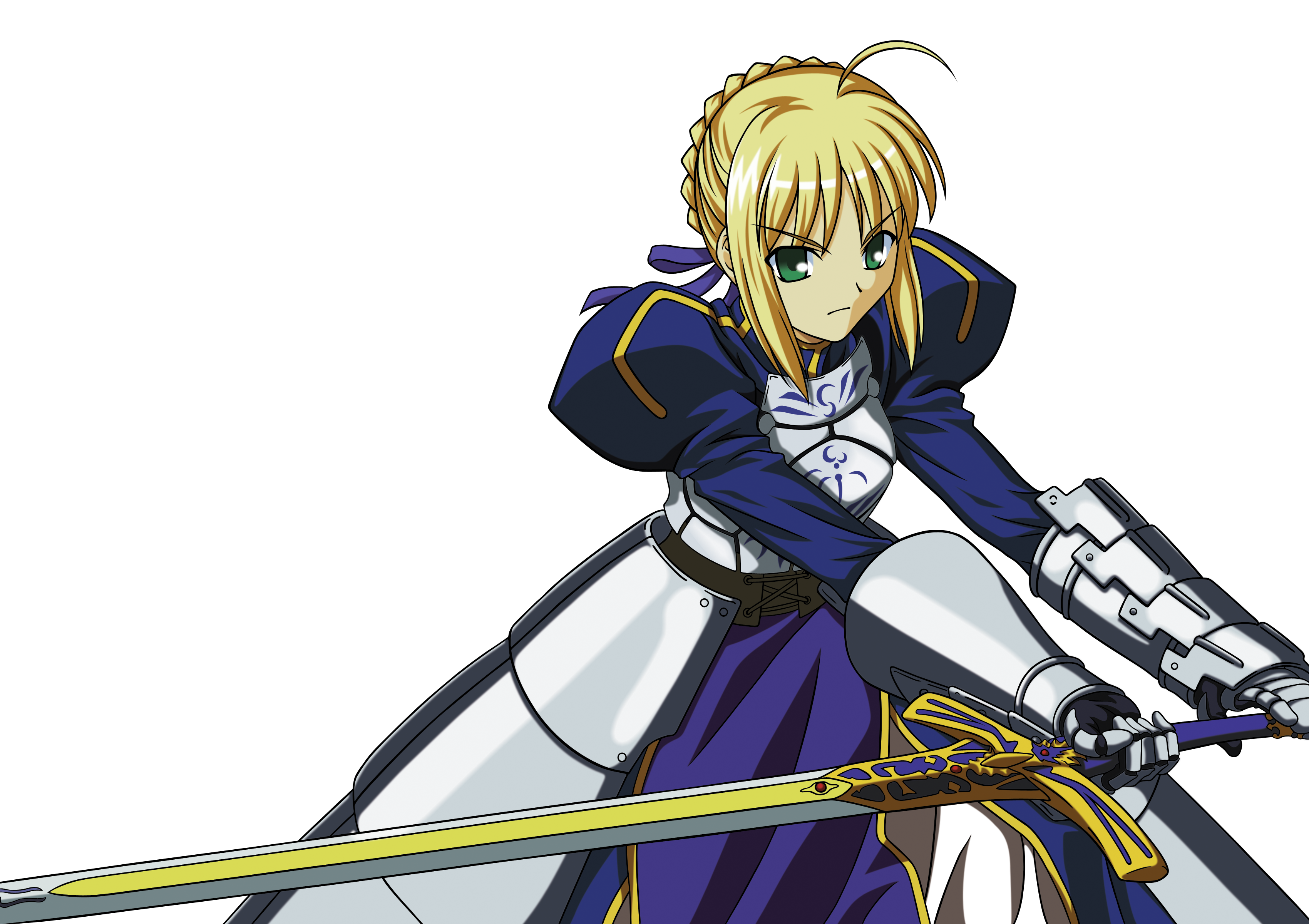 Saber vector transparent. Fate stay night zero svg