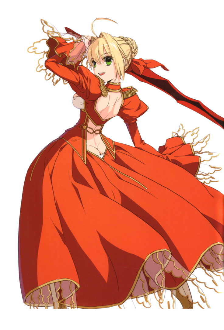 Saber transparent red. In by sachicolate on