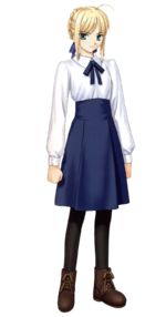 Saber vector fate zero. Stay night type moon