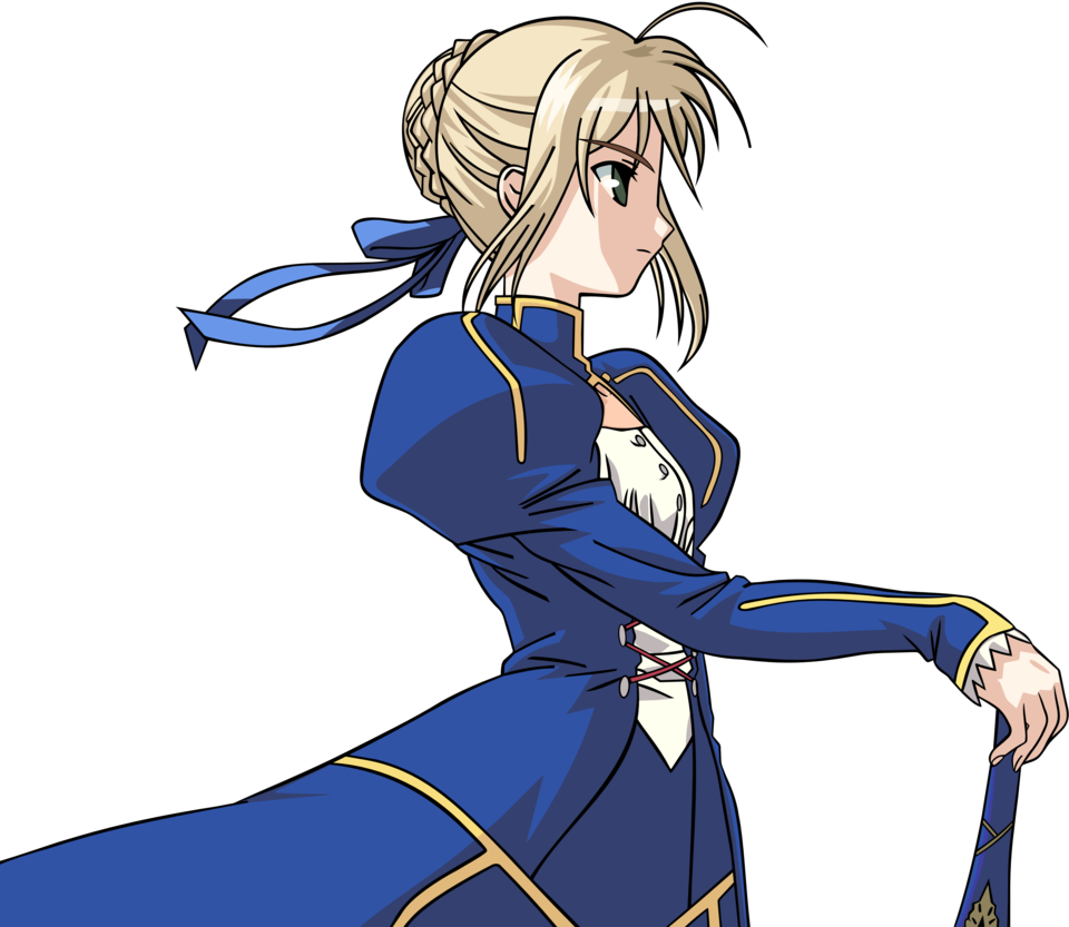 Saber vector fate. Stay night by johnprestongc