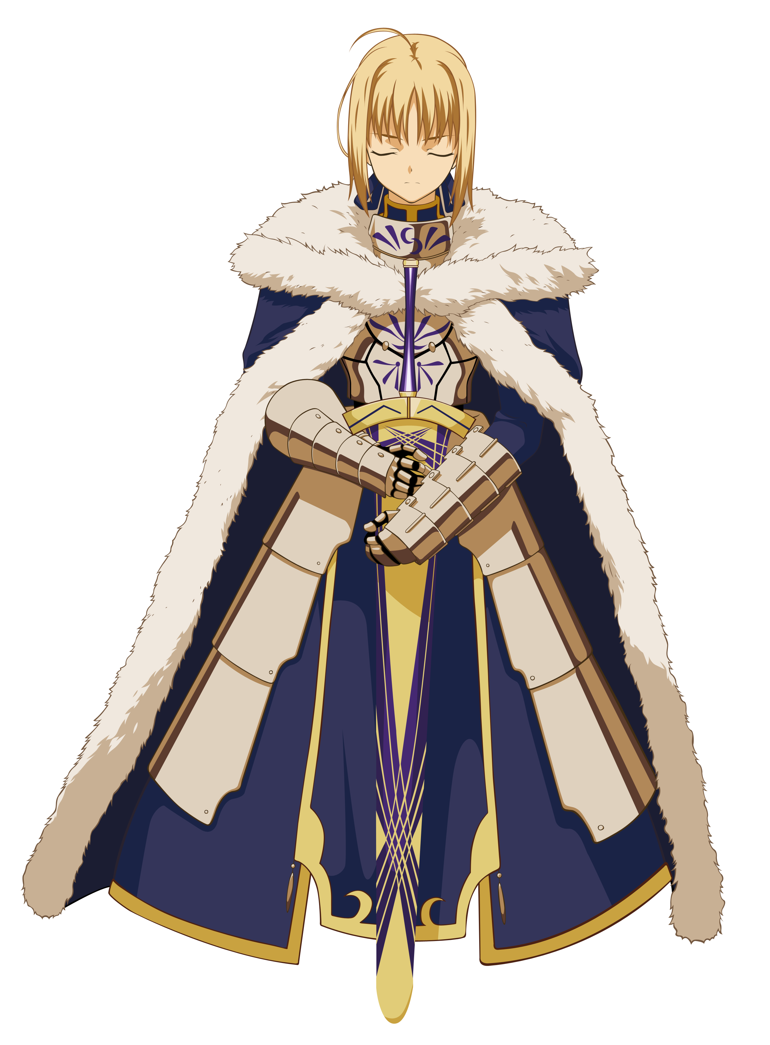 Saber vector. Our graceful king