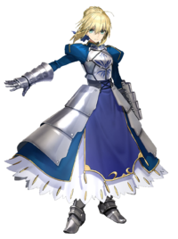 Saber vector carnival phantasm. Fate stay night type