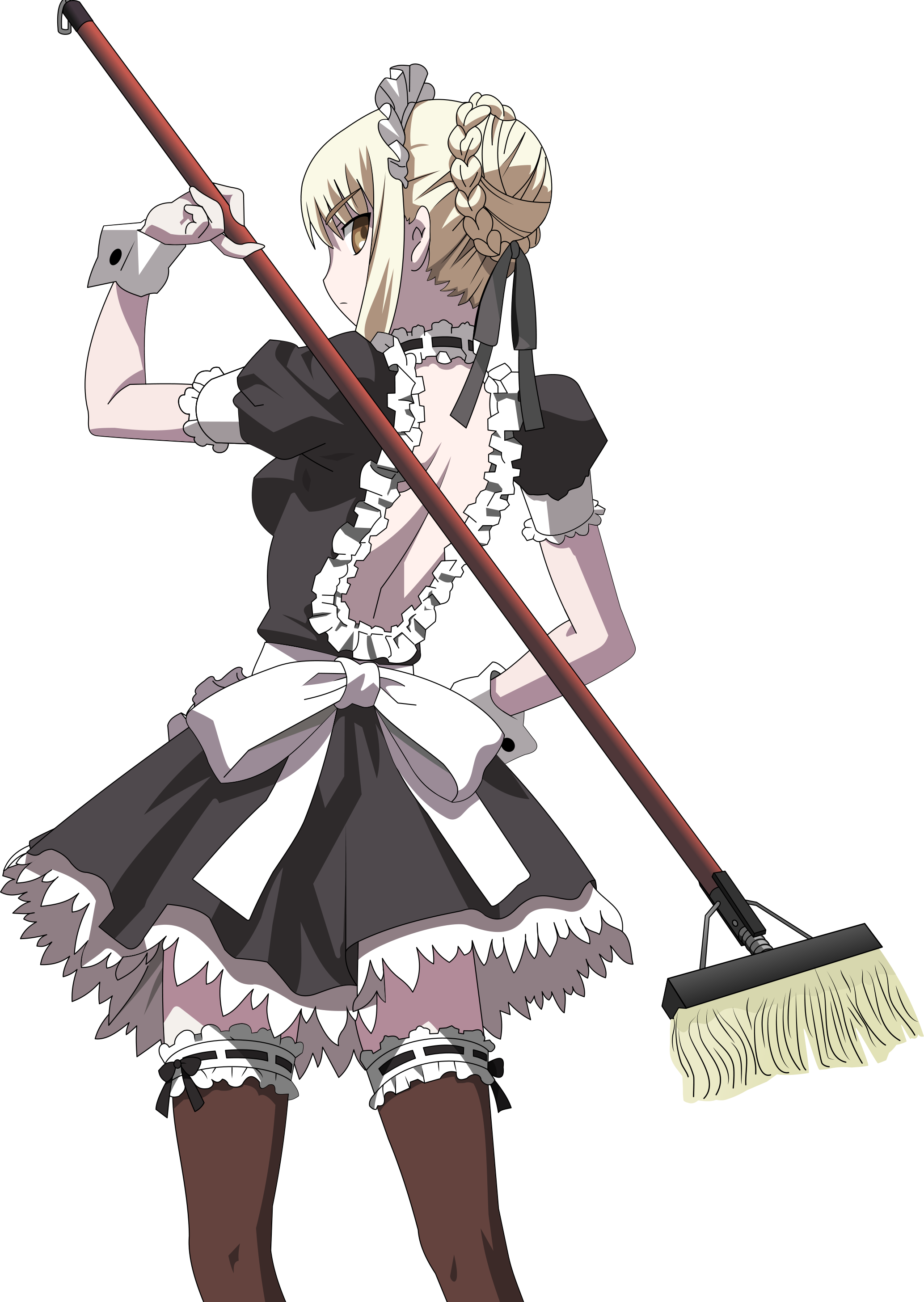 Straywolf s nest . Saber vector picture library