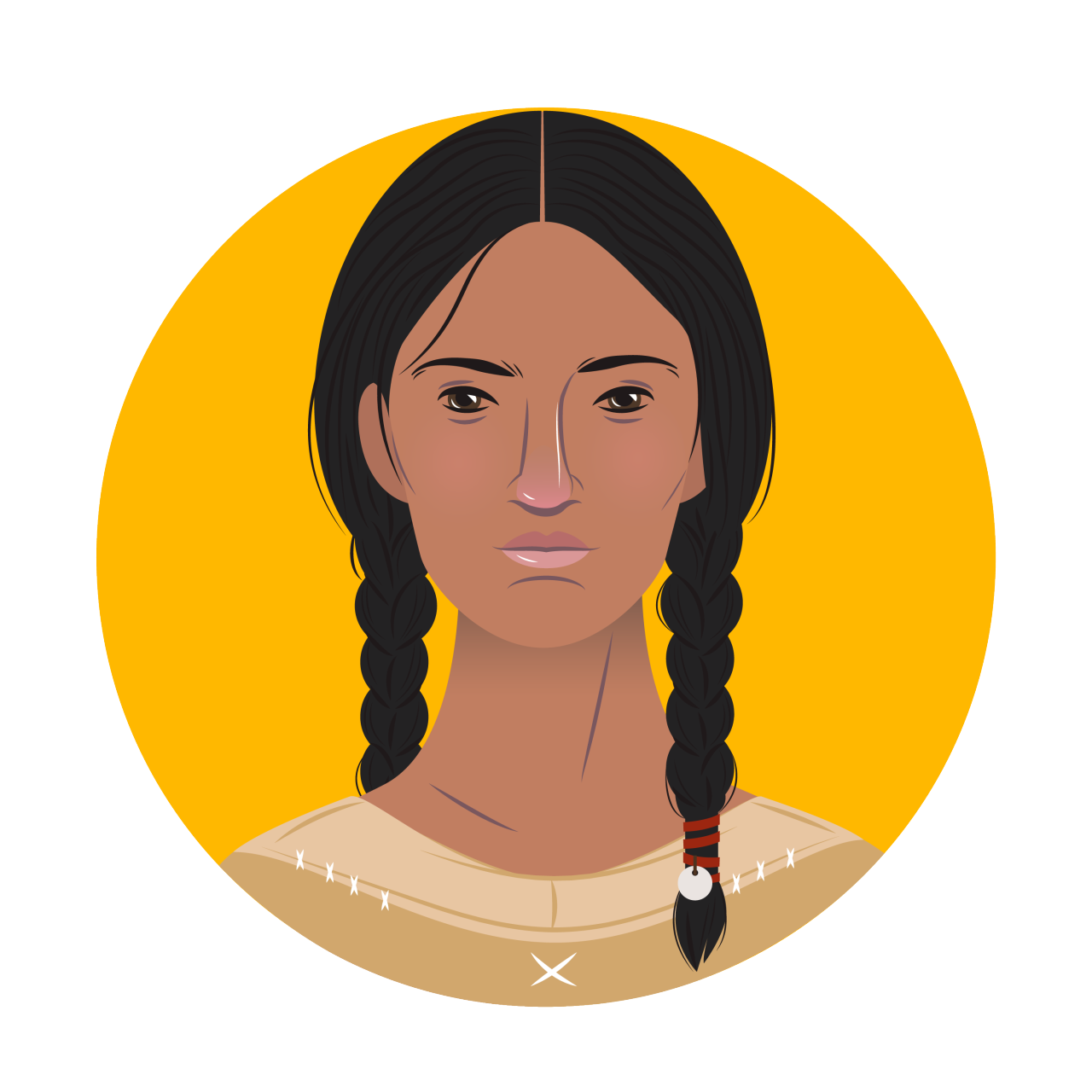 Sacagawea drawing quote. Real heroines interpreter everything
