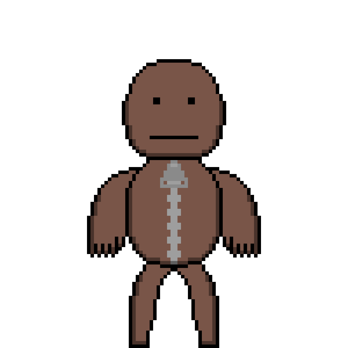 Pixilart lbp by anonymous. Sackboy drawing svg transparent download