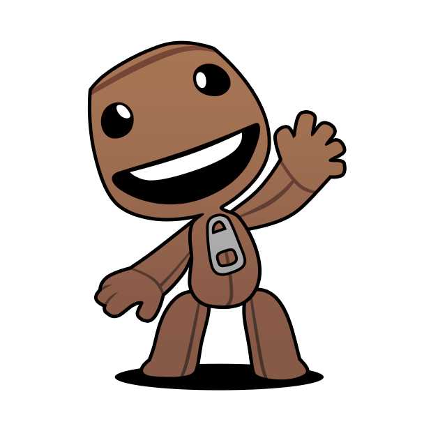 Littlebigplanet on twitter you. Sackboy drawing easy image library download