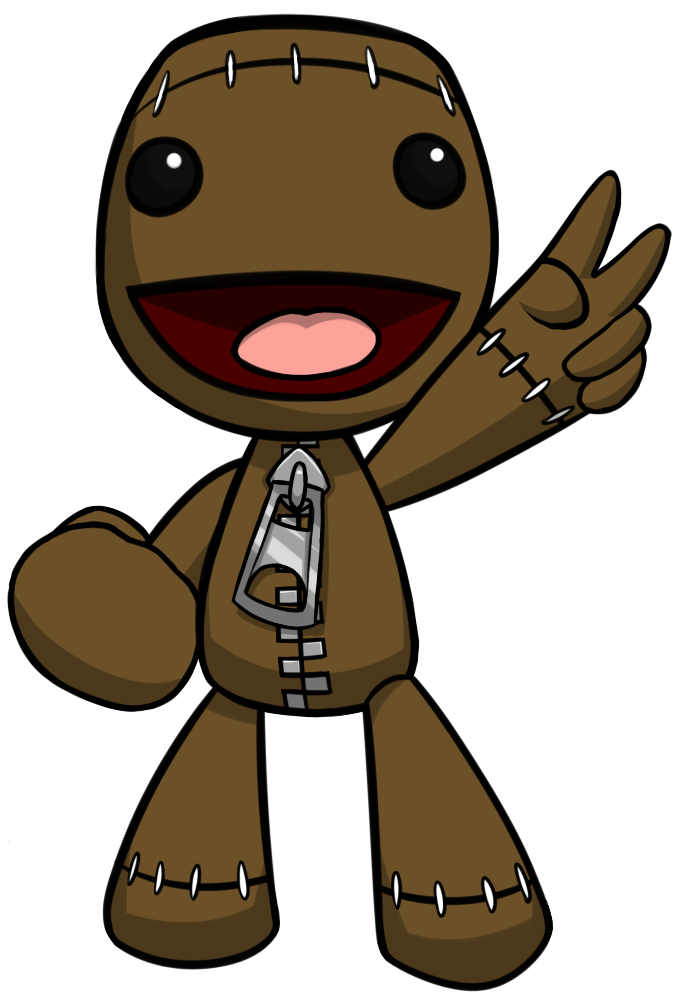 List of synonyms and. Sackboy drawing png black and white stock
